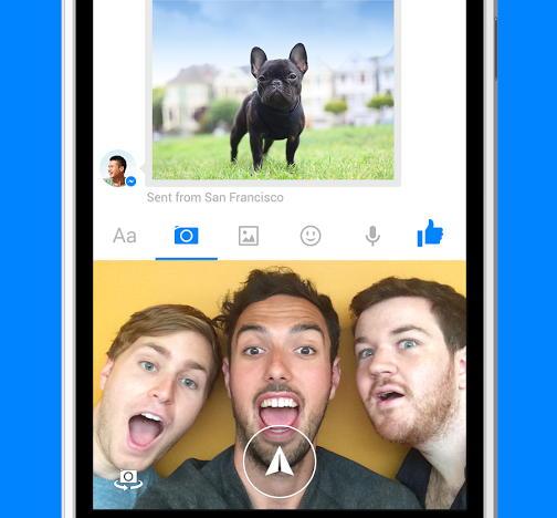 Facebook Messenger possibilita o envio de videos curtos